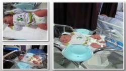 تولد نوزاد پنج کیلوگرمی در شیراز