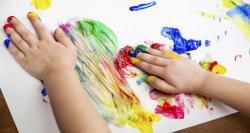 لذت نقاشی انگشتی