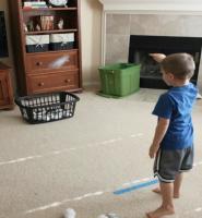 بازی با چسب کاغذی
